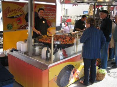 paella reception aix en provence